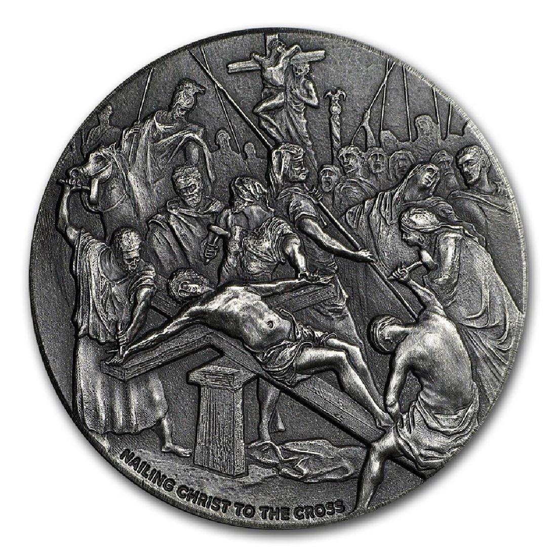 2017 2 oz Silver Coin - Biblical Series (Nailing Christ