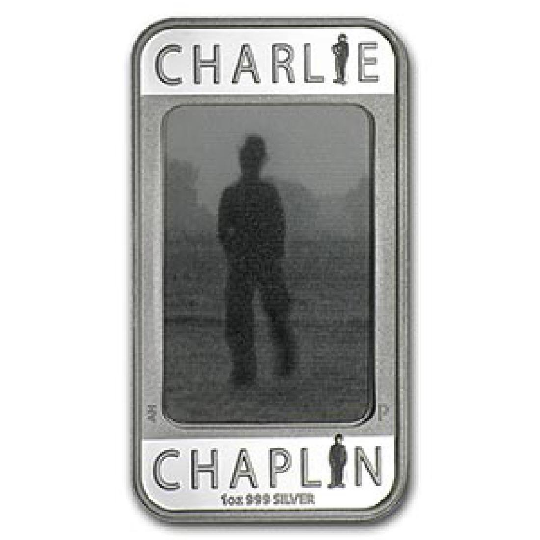 2014 1 oz Silver Charlie Chaplin 100 Years of Laughter