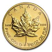 2004 Canada 110 oz Gold Maple Leaf BU