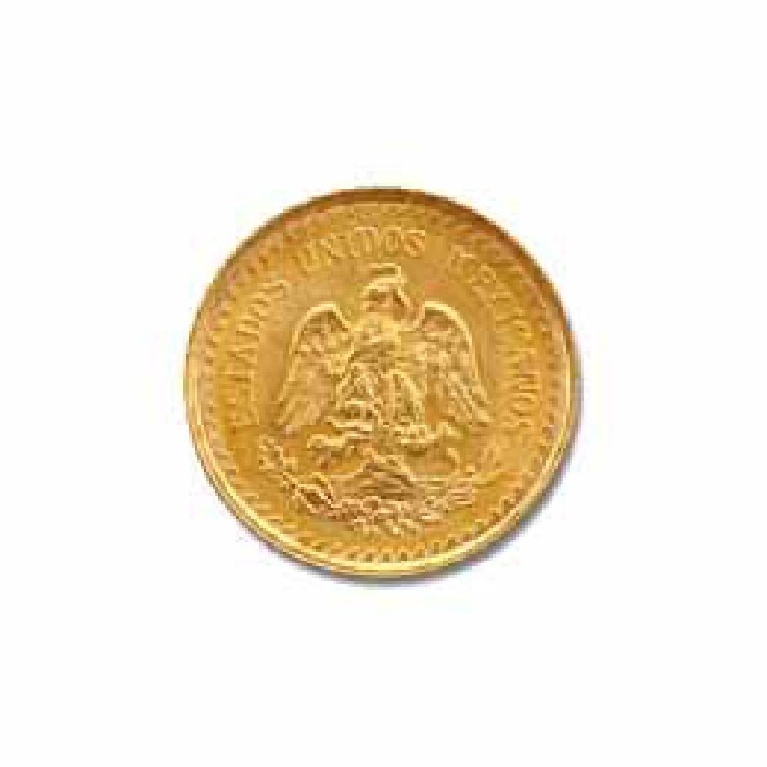 Mexico 2.5 Pesos Gold Coin