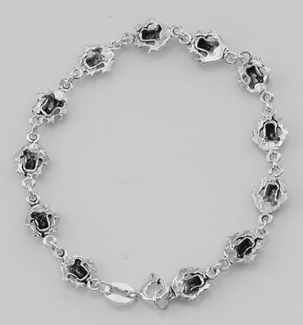 Frog Bracelet - Sterling Silver - 2