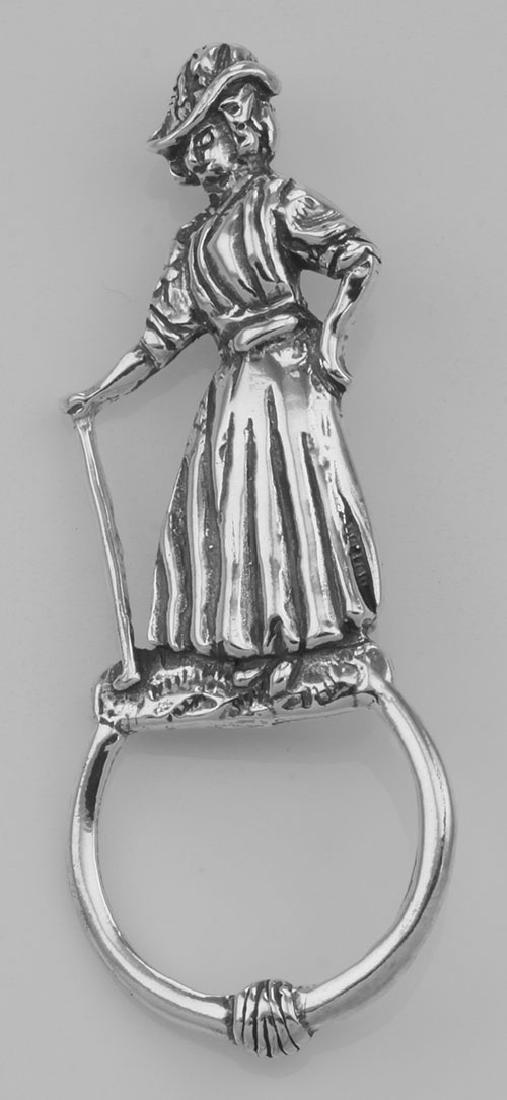 Eyeglass Holder Pin Eye Glass Loop Brooch Lady Golfer S