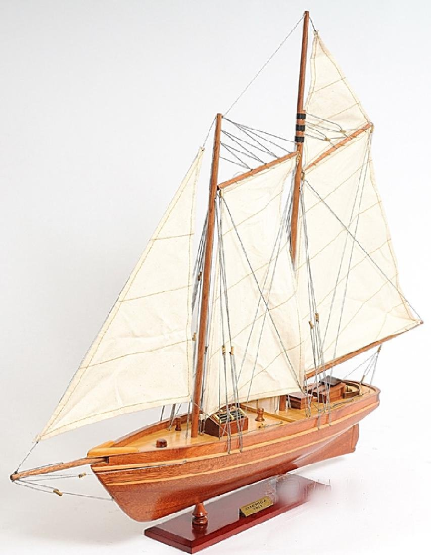 HAND MADE WOODEN America Yacht - 2