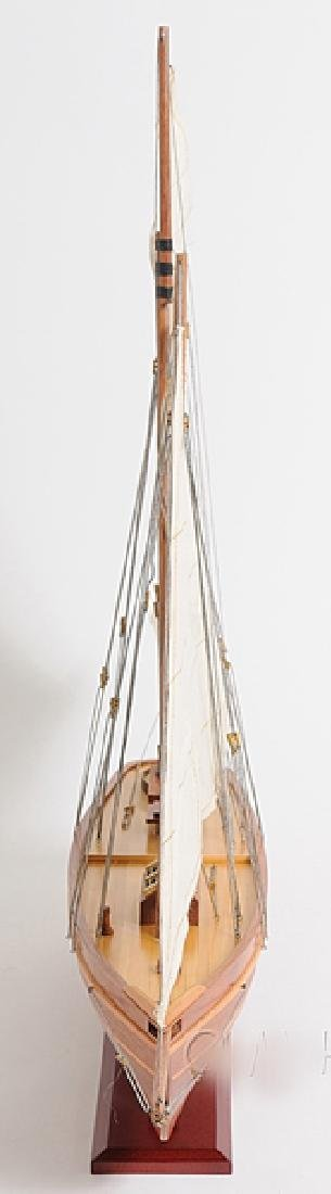 HAND MADE WOODEN America Yacht - 3