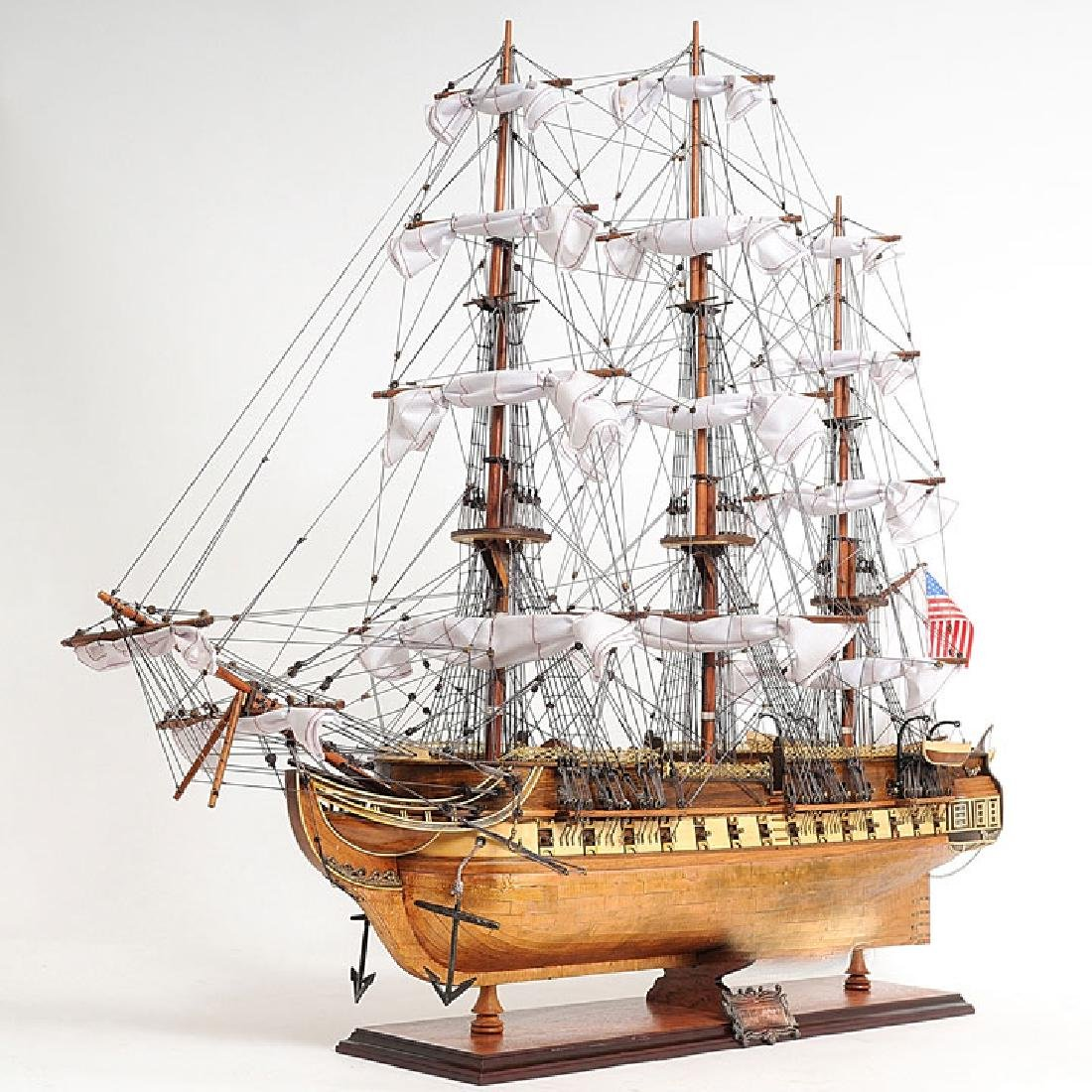HAND MADE WOODEN Cutty Sark (no sail) W/COA - 4