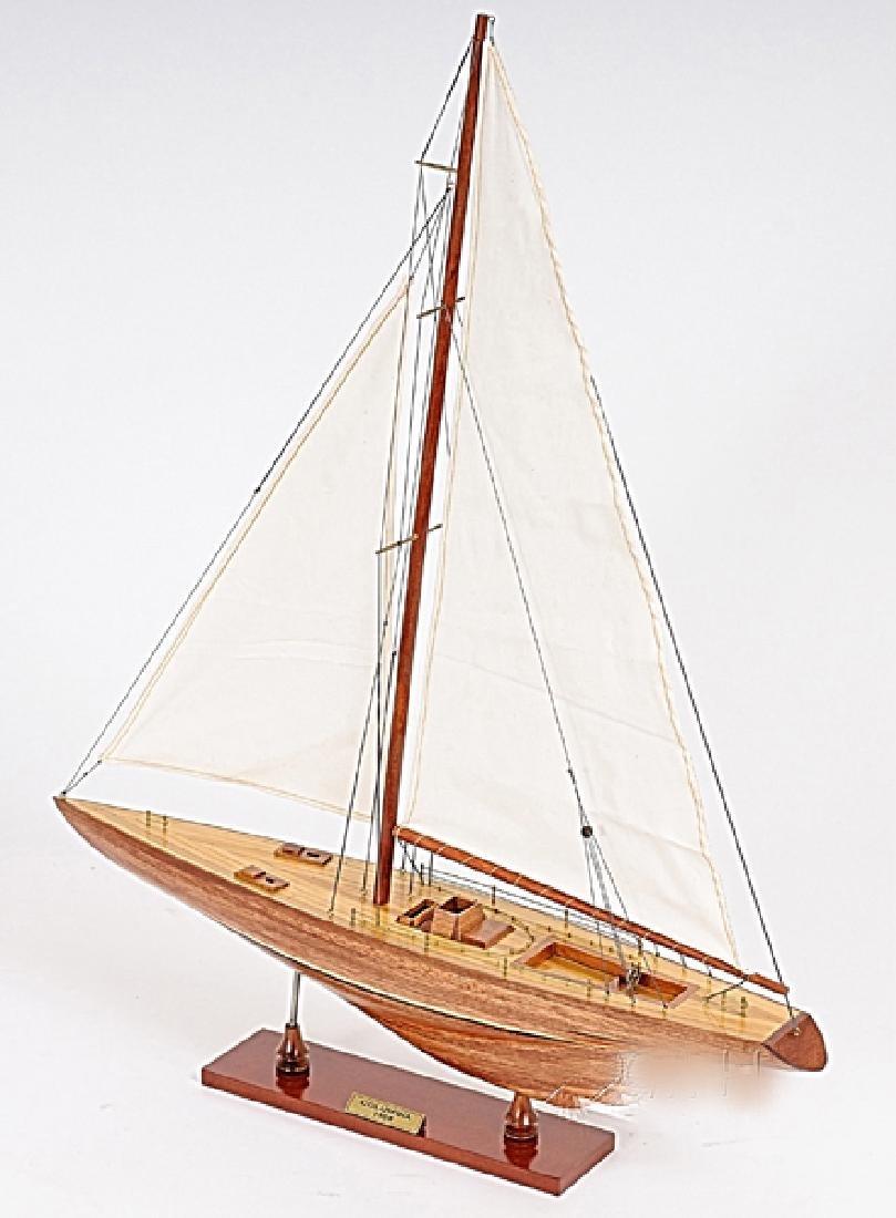 HAND MADE WOODEN Columbia Ship W/COA - 2