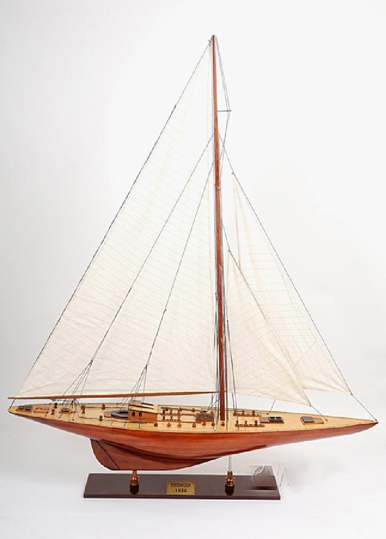 HAND MADE WOODEN Columbia Ship W/COA - 4