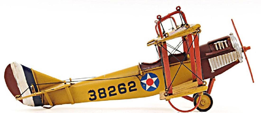 HAND MADE 1918 YELLOW CURTIS JB-4 1:24TH SCALE MODEL RE