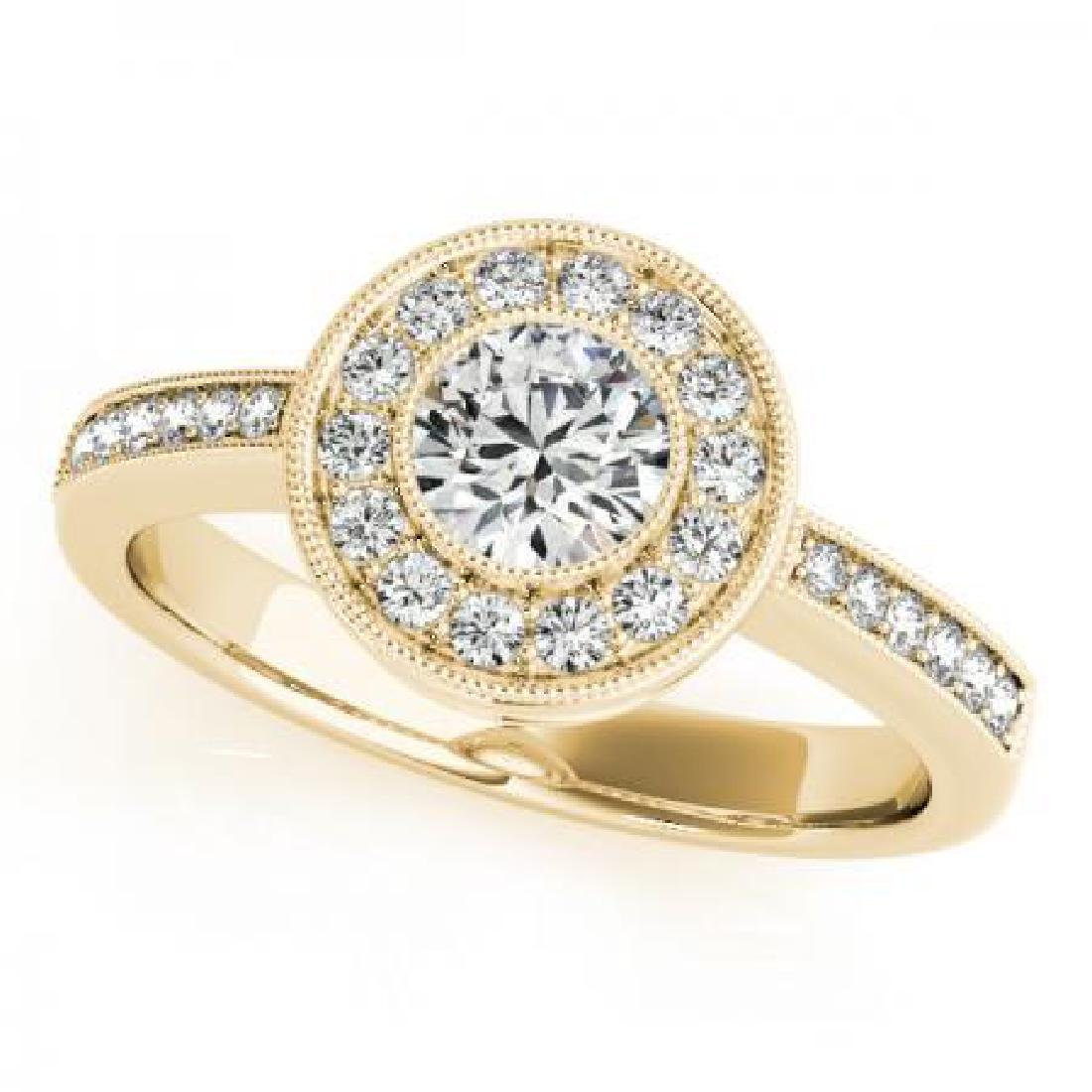 CERTIFIED 18K YELLOW GOLD 2.50 CT G-H/VS-SI1 DIAMOND HA
