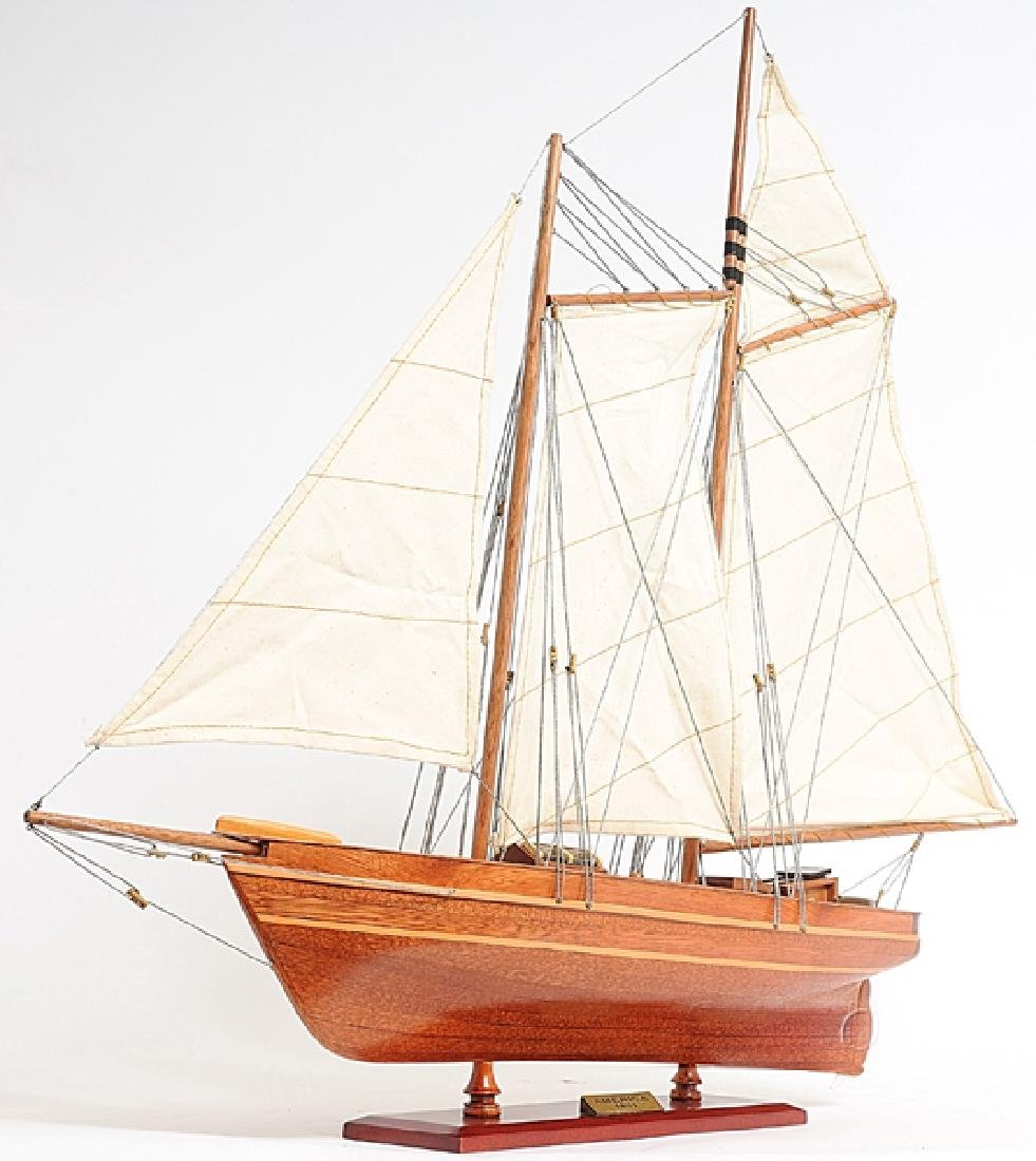 HAND MADE WOODEN America Yacht