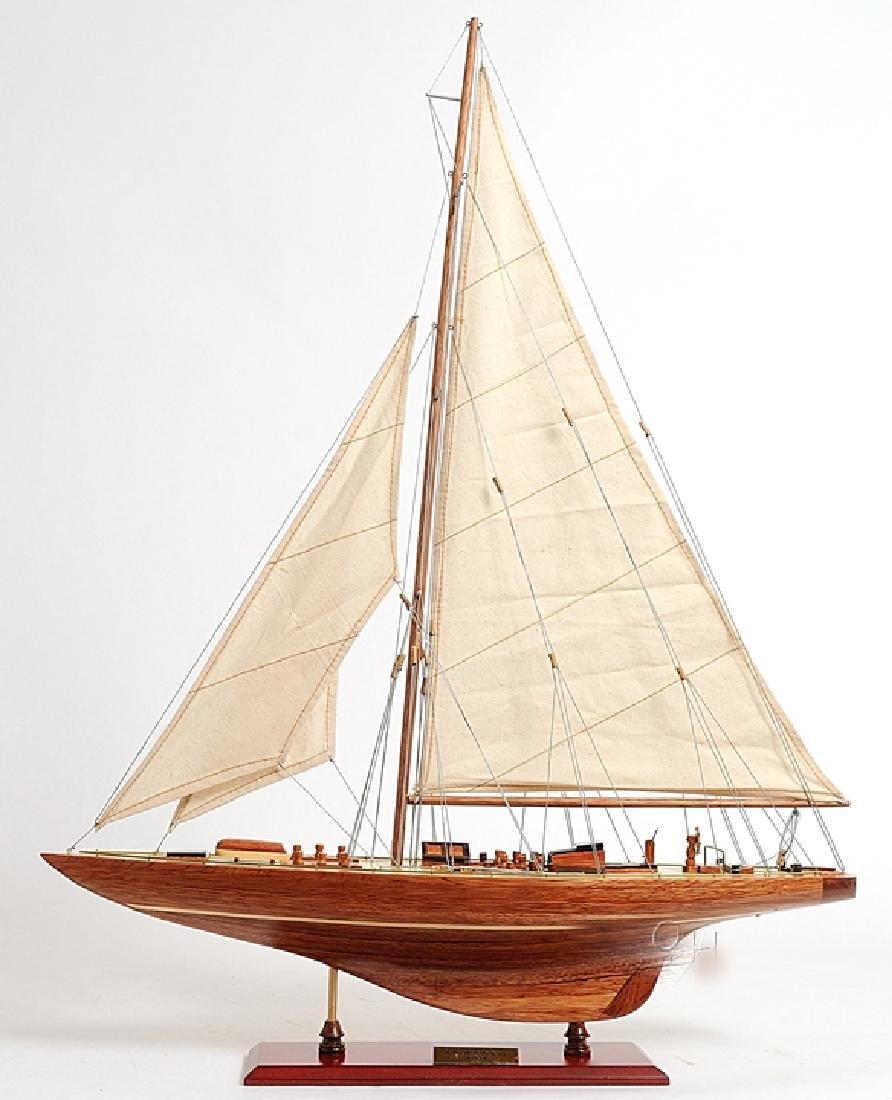 HAND MADE WOODEN Endeavour Sm W/COA