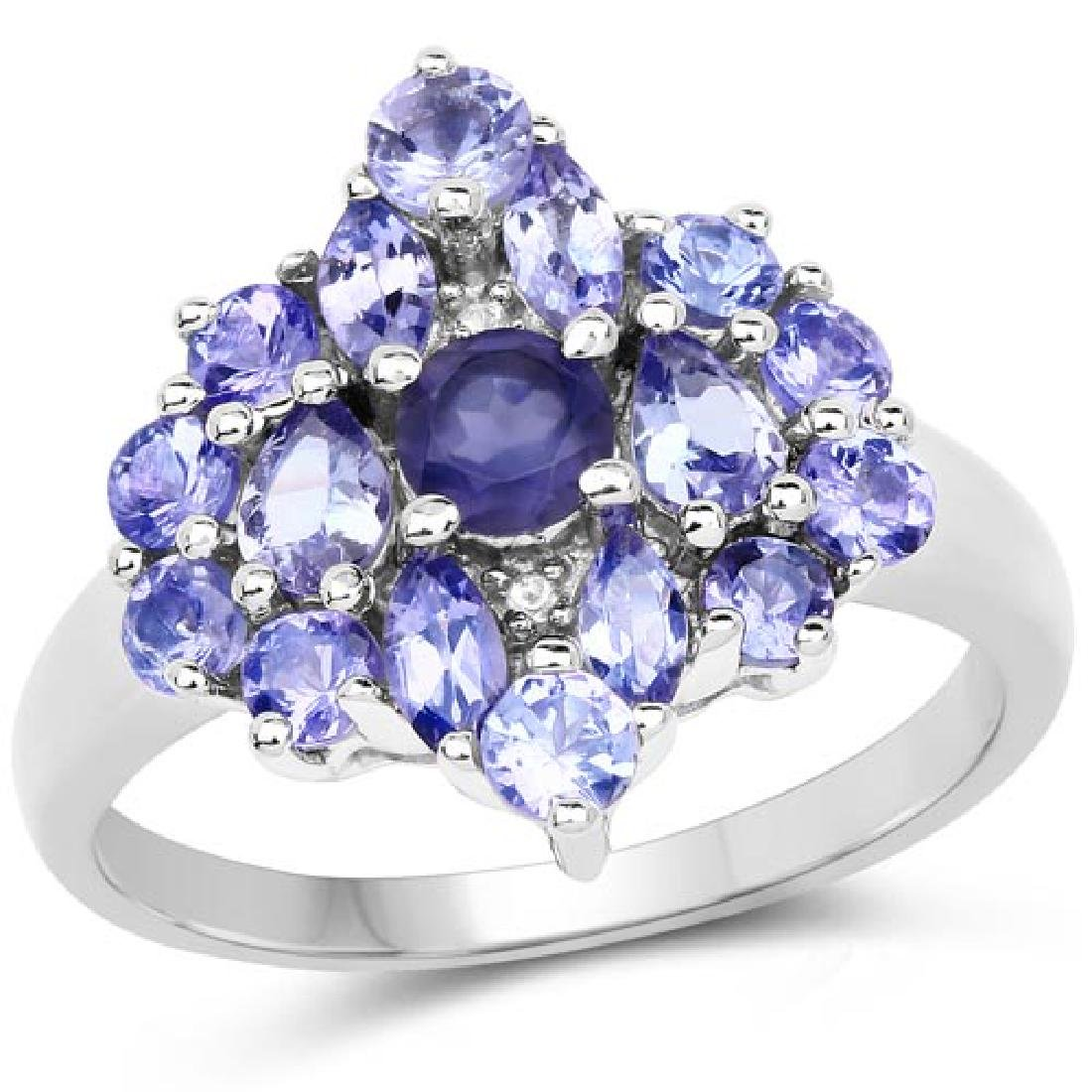 1.59 Carat Genuine Iolite Tanzanite and White Topaz .9