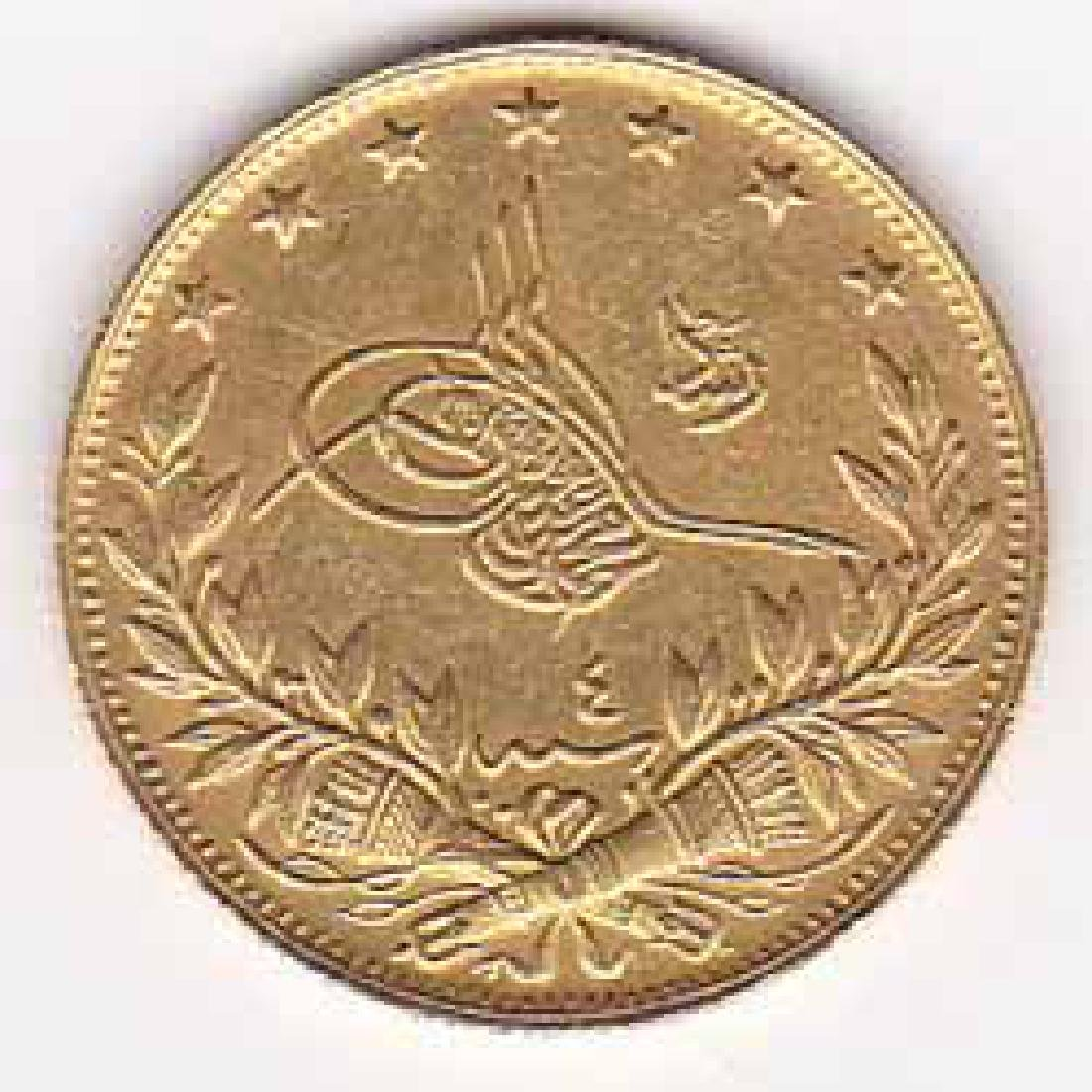 Turkey 100 kurush gold 1909-1915