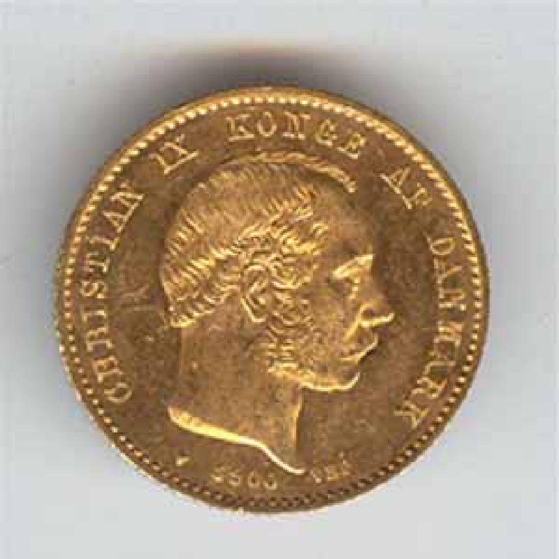 Denmark gold 20 kroner Date of our Choice