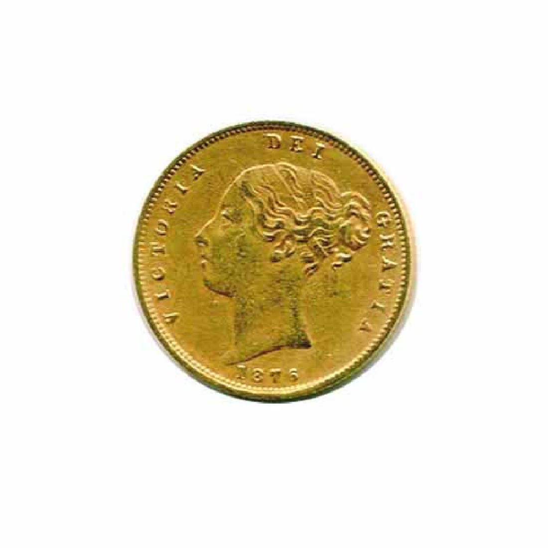 Great Britain Half Sovereign Gold 1876