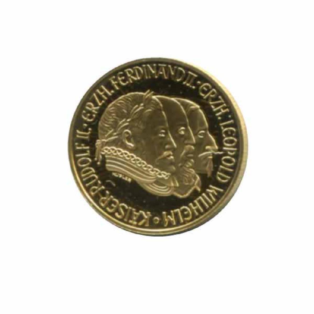 Austria 500 schilling gold PF 1993 Three Emperors