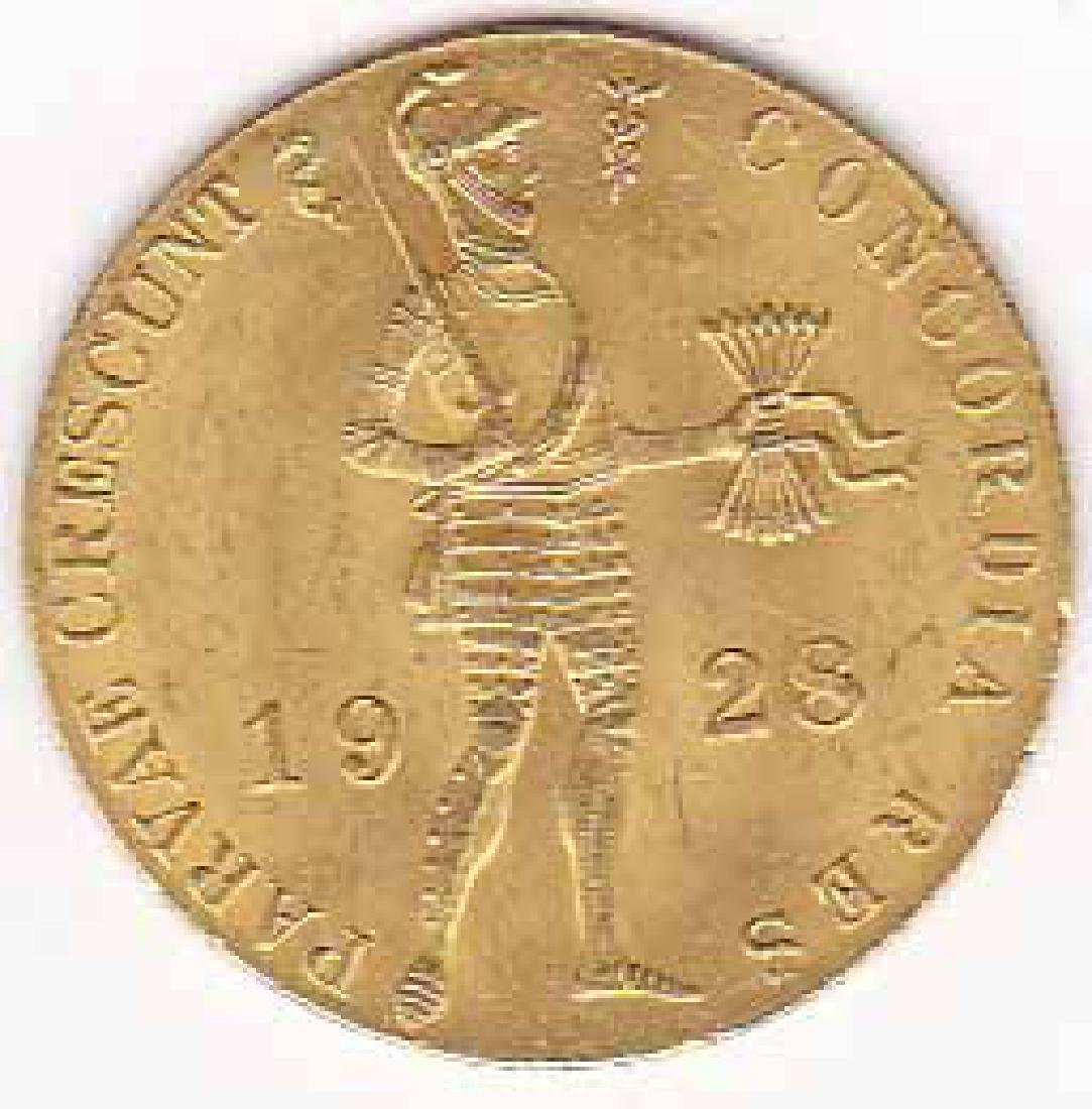 Netherlands 1 ducat gold 1901-1937