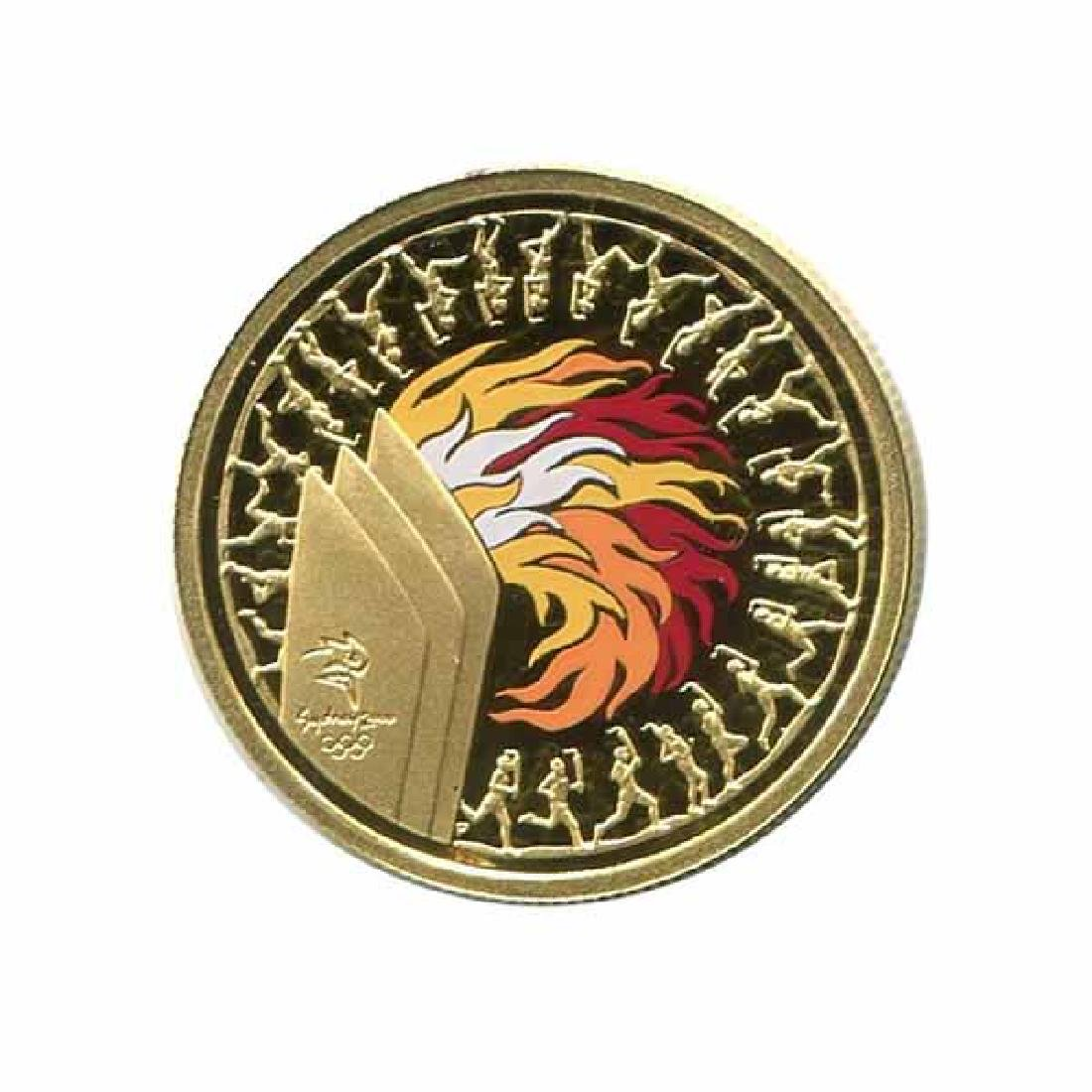 Australia $100 gold PF 2000 Olympic Torch