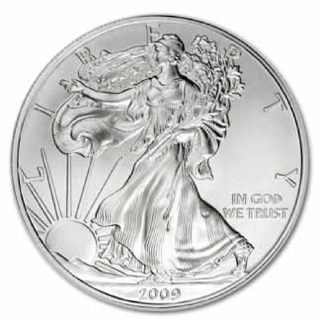 2009 1 oz Silver American Eagle BU