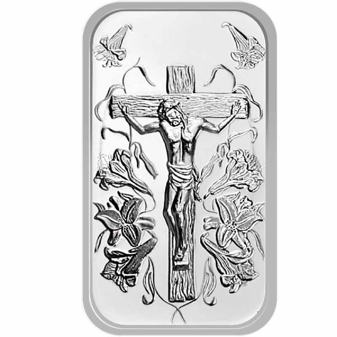 Jesus .999 Silver 1 oz Bar