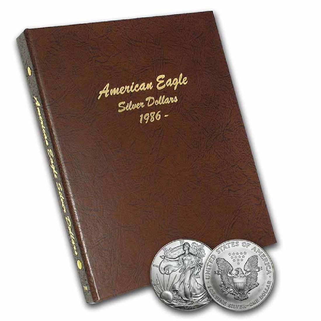 Complete Set Uncirculated Silver Eagles 1986-2017