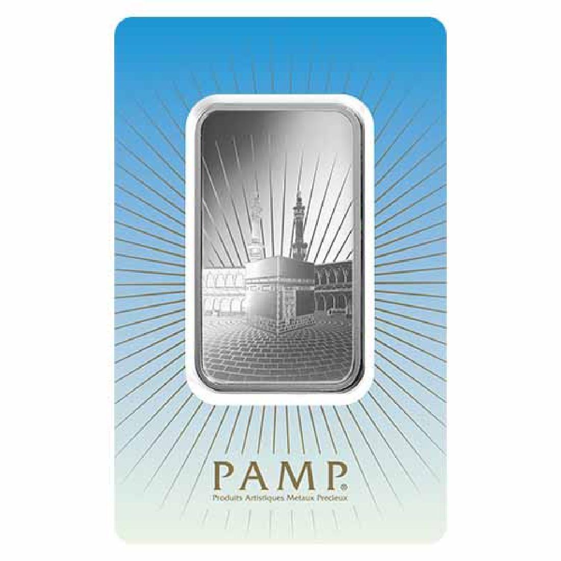 PAMP Suisse Silver Bar 1 oz - Ka