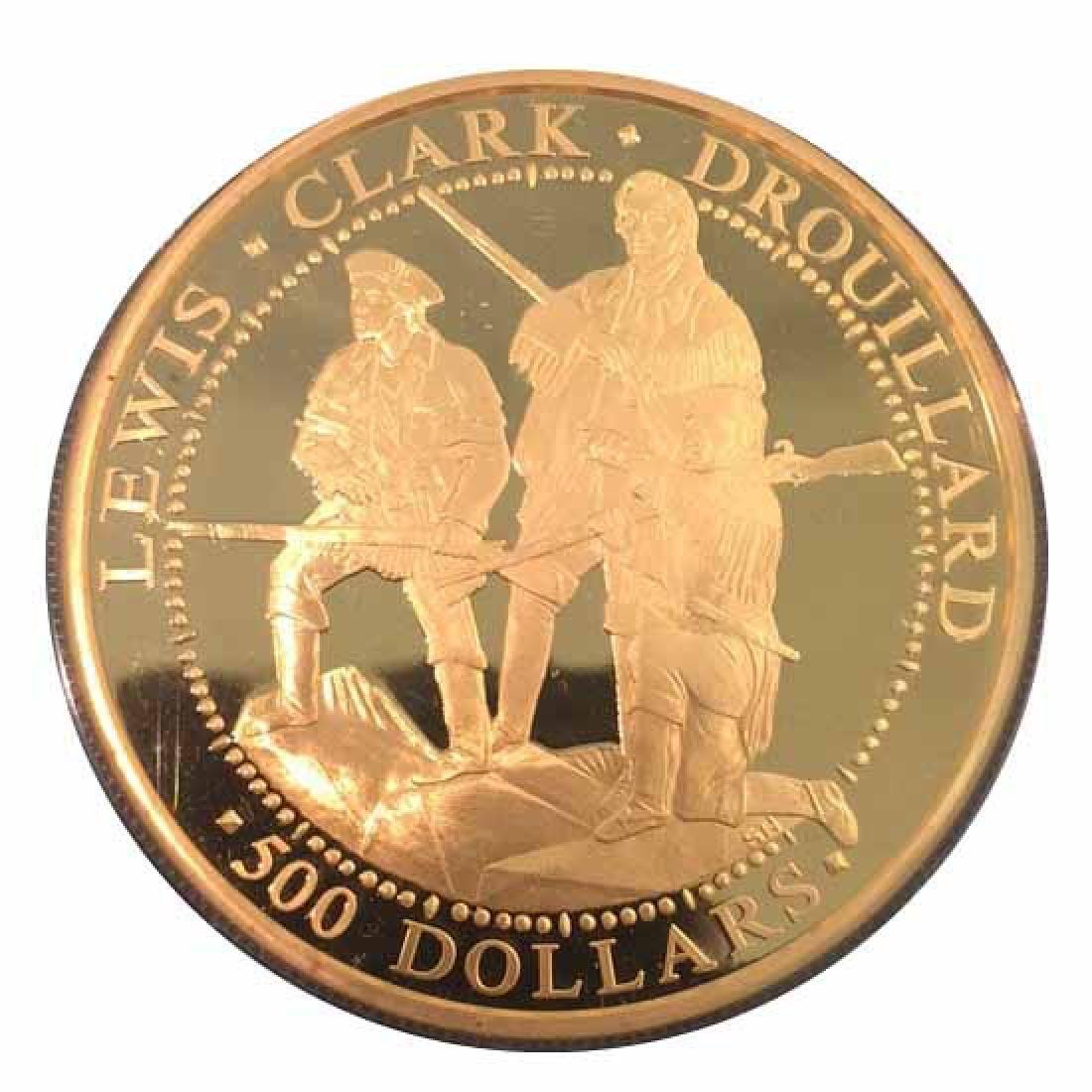 Shawnee Nation $300 Gold Proof 2003 Lewis & Clark