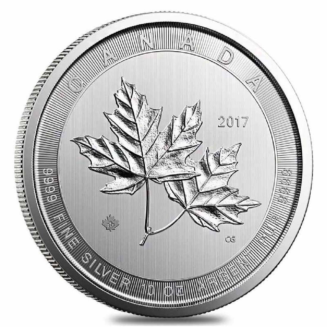 2017 Silver Maple Leaf 10 oz Uncirculated