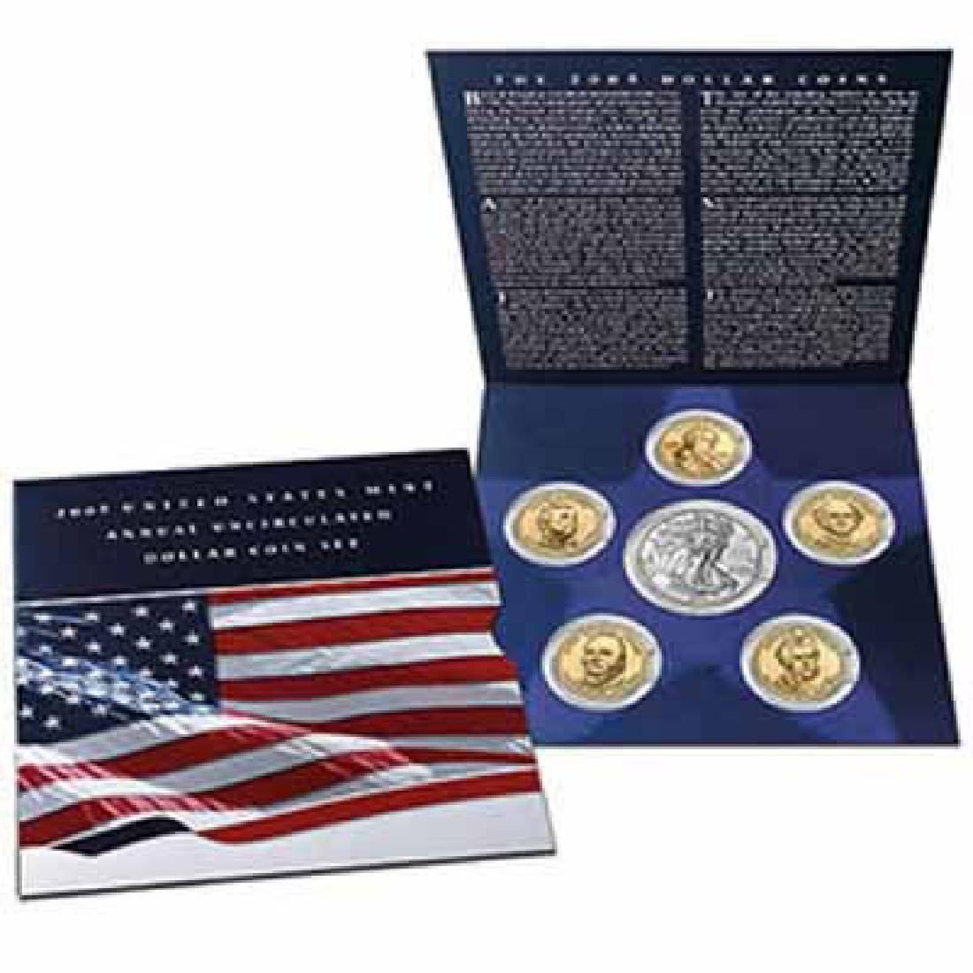2007 U.S. Mint Annual Uncirculated Dollar Coin Set