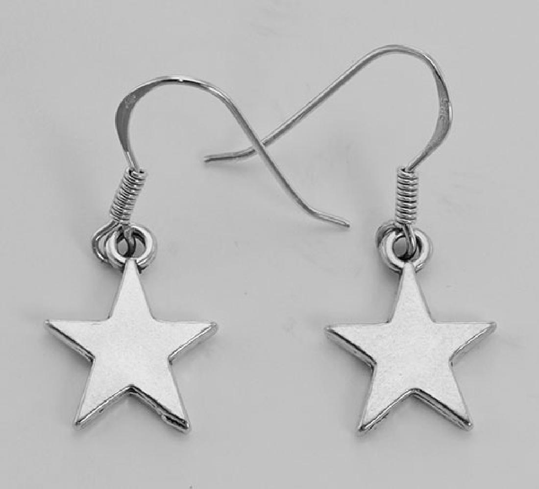 Cute Star Earrings - Sterling Silver