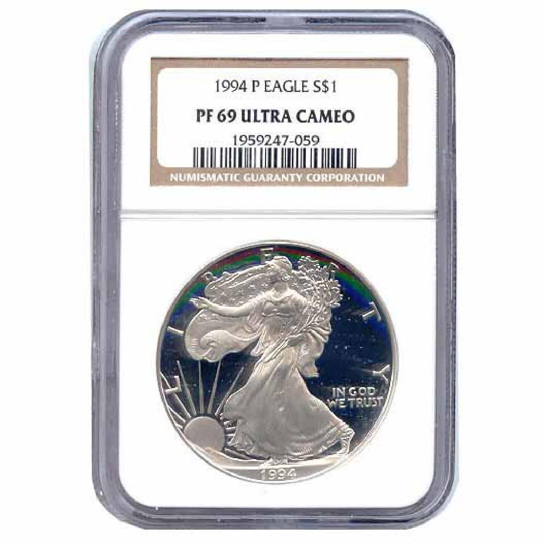 Certified Proof Silver Eagle PF69 1994