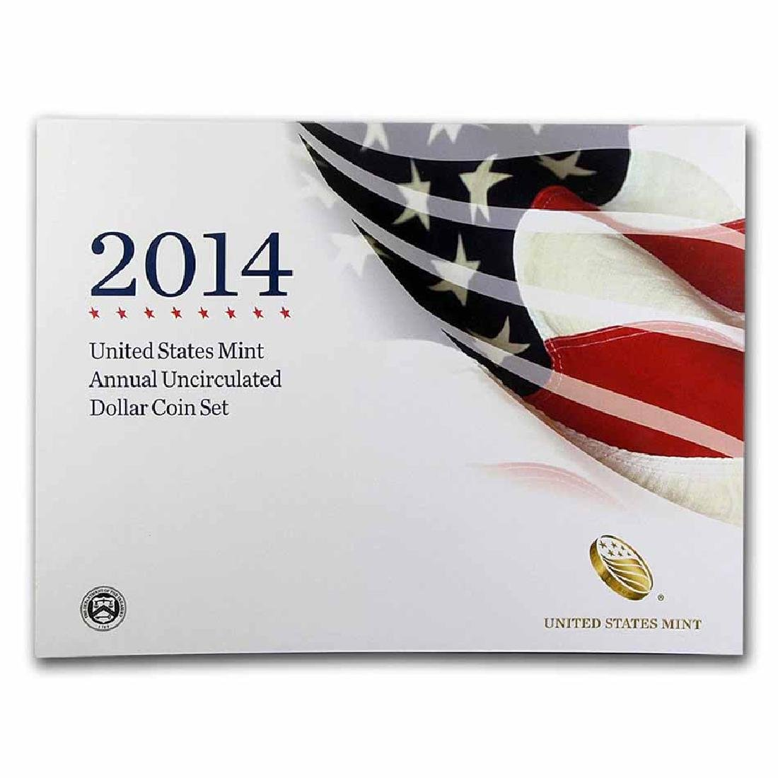 2014 U.S. Mint Annual Uncirculated Dollar Coin Set