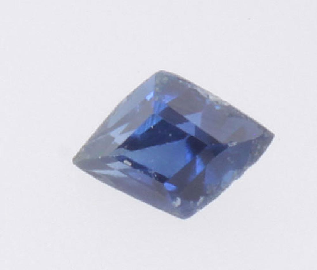 3 mm x 2 mm Diamond Shape Natural Genuine Blue Sapphire