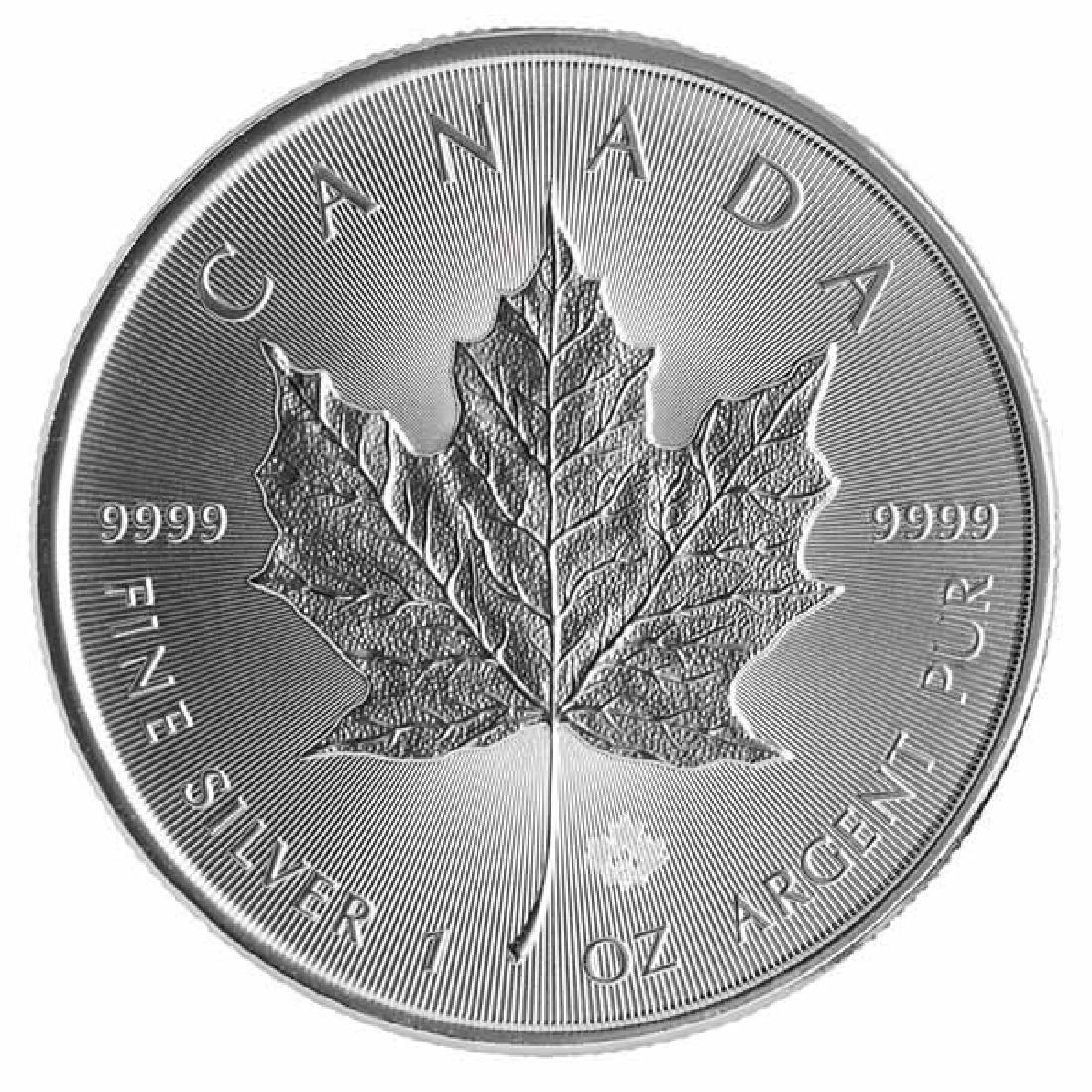 2014 Silver Maple Leaf 1 oz Uncirculated