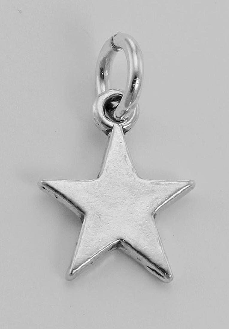 Cute Star Charm - Sterling Silver