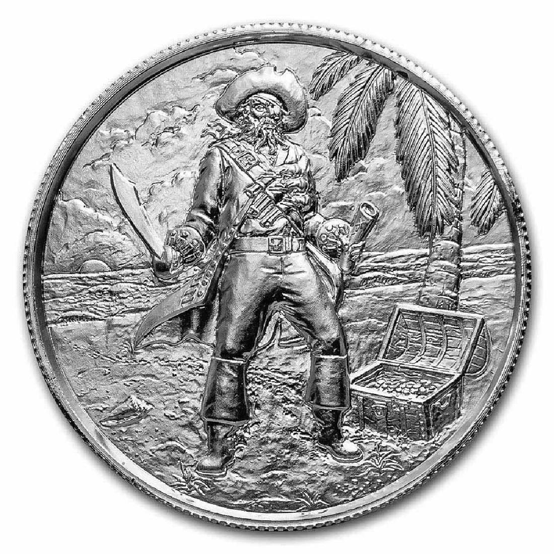 Elemetal Mint 2 oz High Relief Silver Round - The Capta