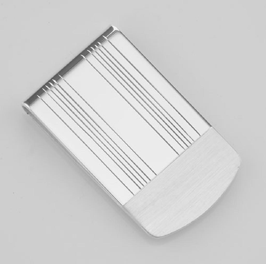 mc300 Money Clip / Engravable Clips - Sterling Silver