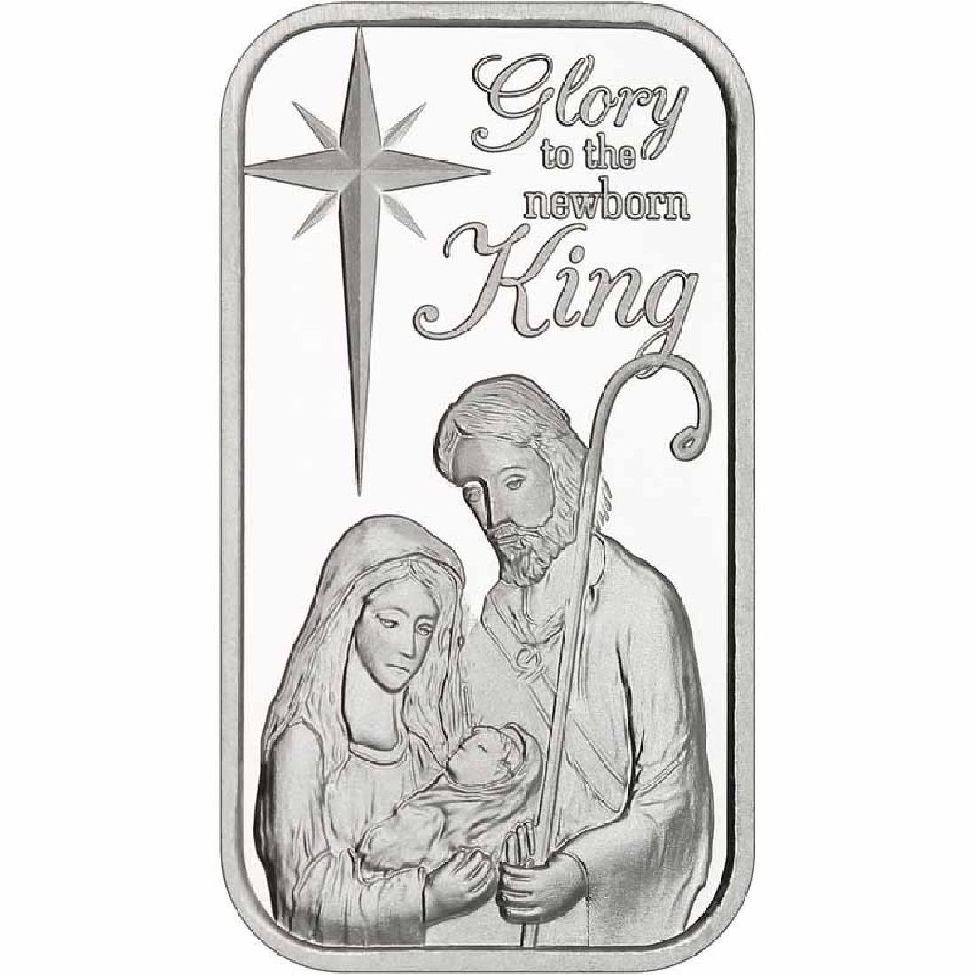 Christmas 2017 Silver Bar X-3 Nativity