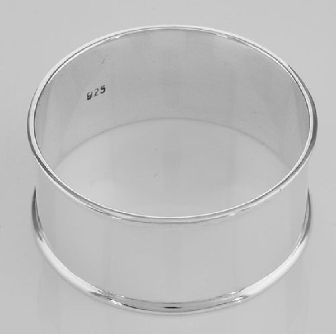 Classic Round Sterling Silver Napkin Ring
