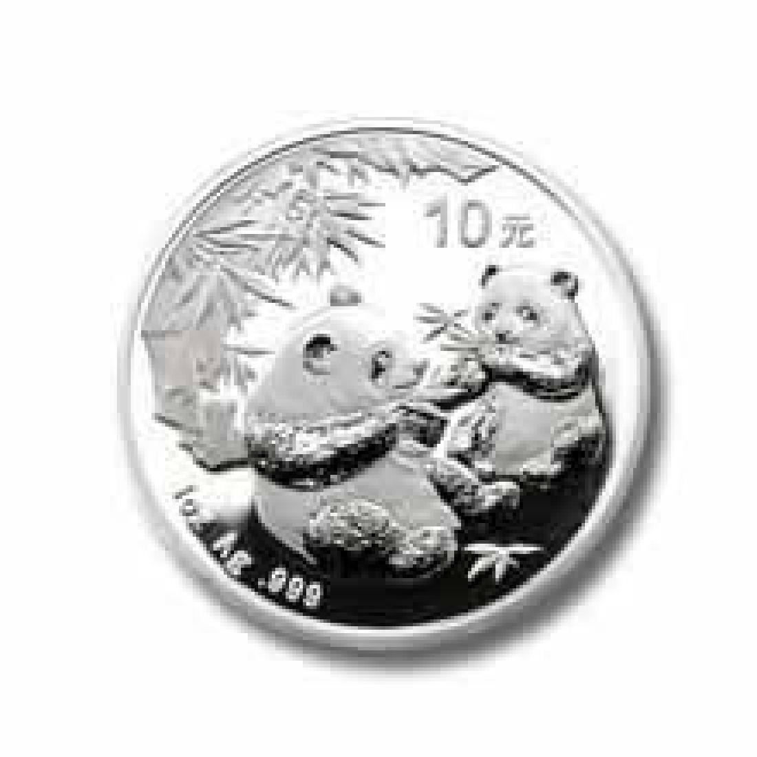 2006 Chinese Silver Panda 1 oz