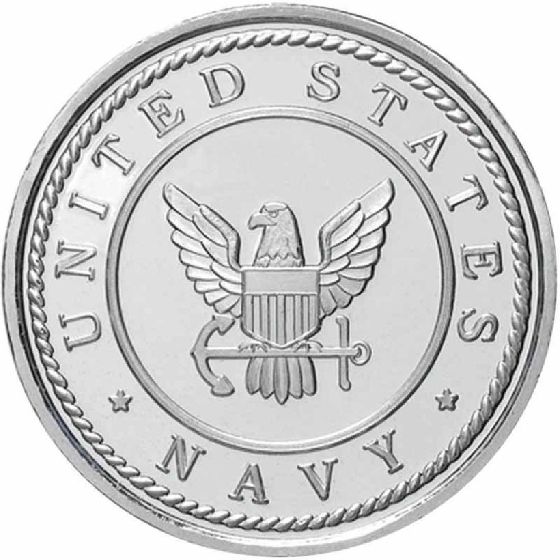 US Navy .999 Silver 1 oz Round