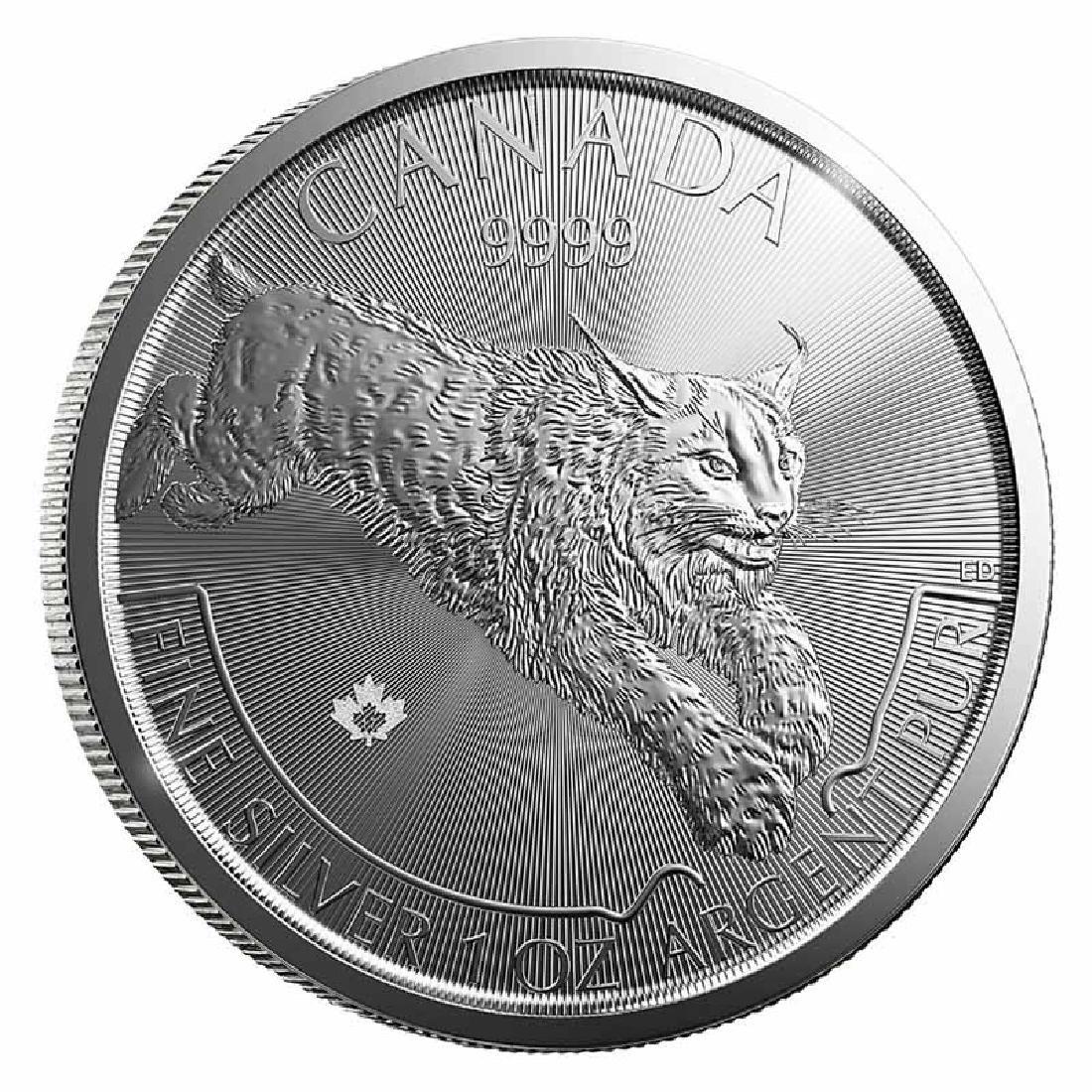 Canadian Silver 1 oz Lynx 2017 (Predator Series)