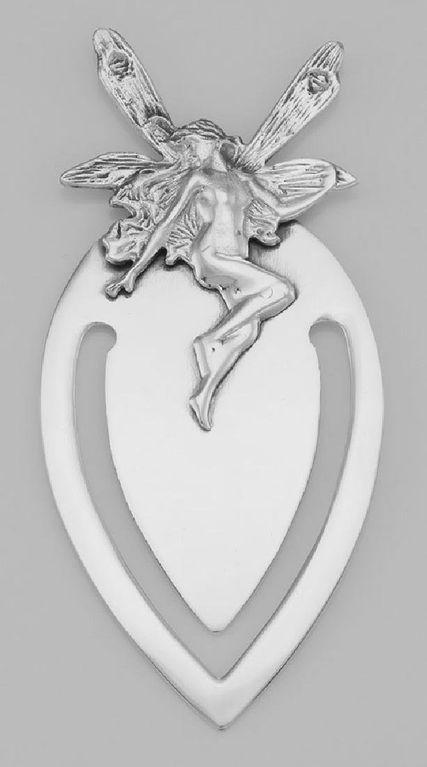 Classic Victorian Style Winged Fairy Sterling Silver Bo