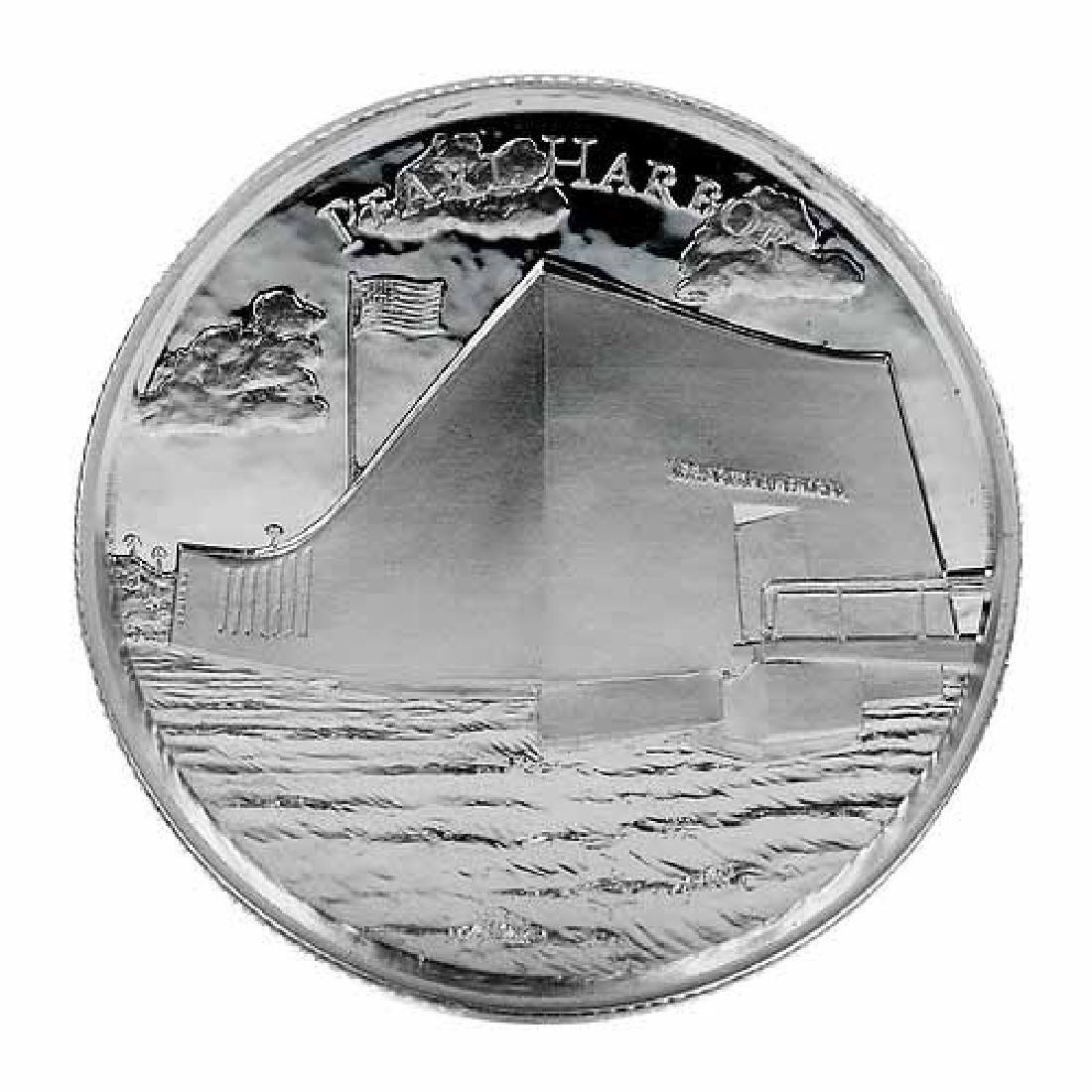 Elemetal Mint 2 oz High Relief Silver Round - Pearl Har