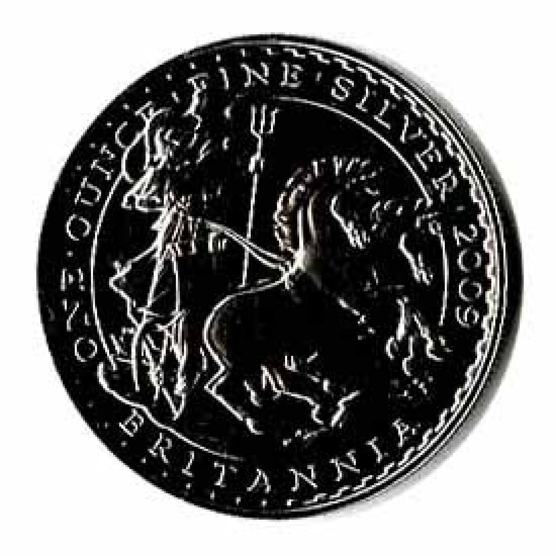 Uncirculated Silver Britannia 1 oz 2009