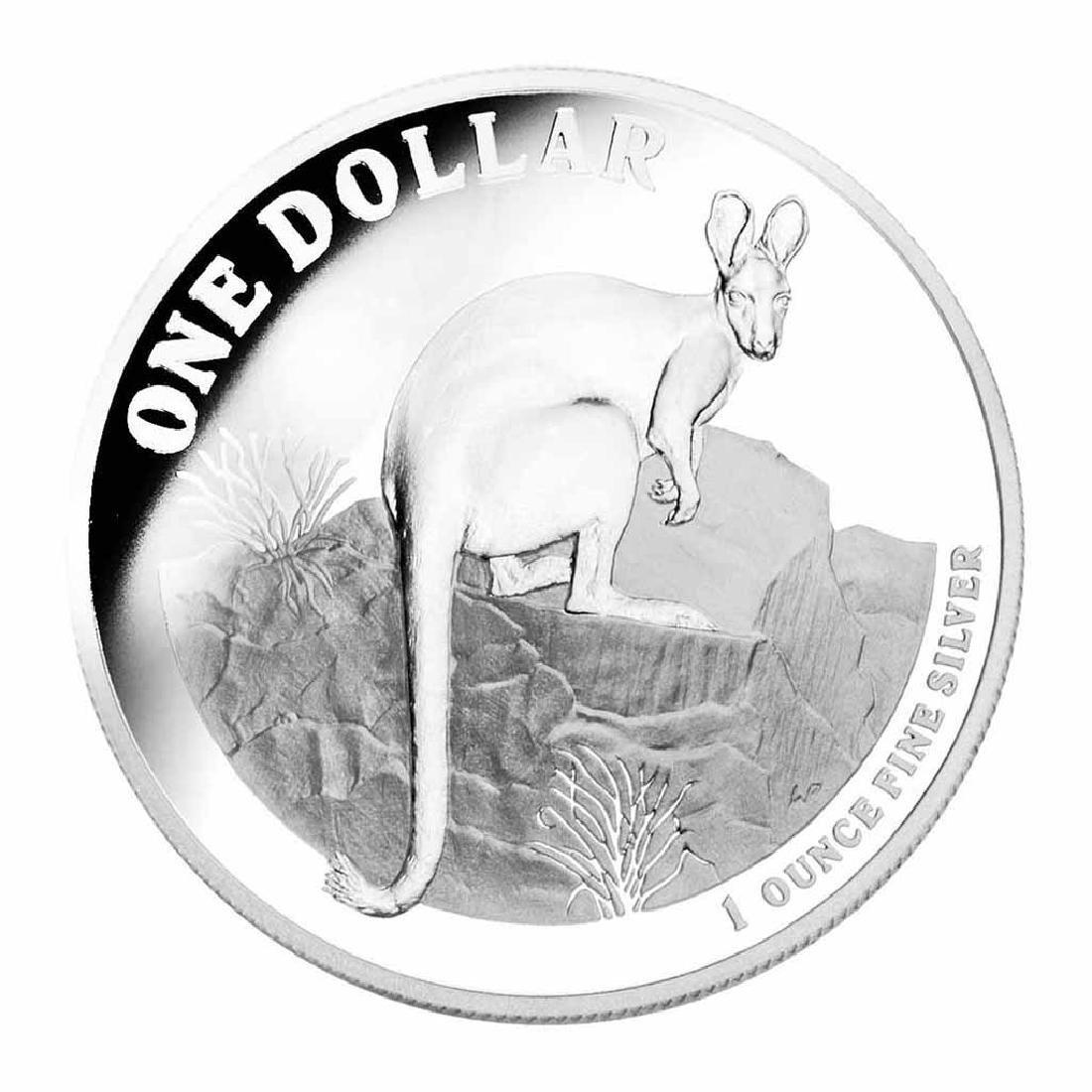 Australian Kangaroo 1 oz. Silver 2010 Proof