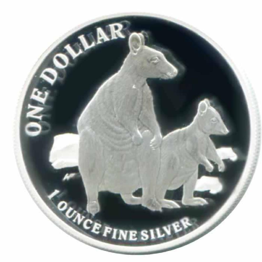 Australian Kangaroo 1 oz. Silver 2011 Proof