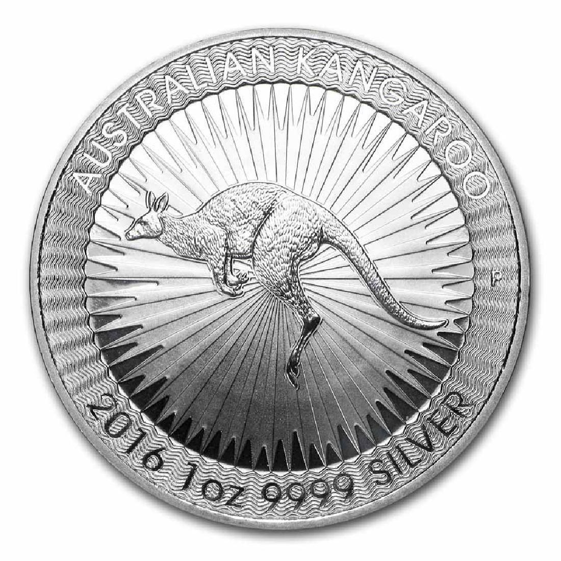 2016 Australia 1 oz Silver Kangaroo BU