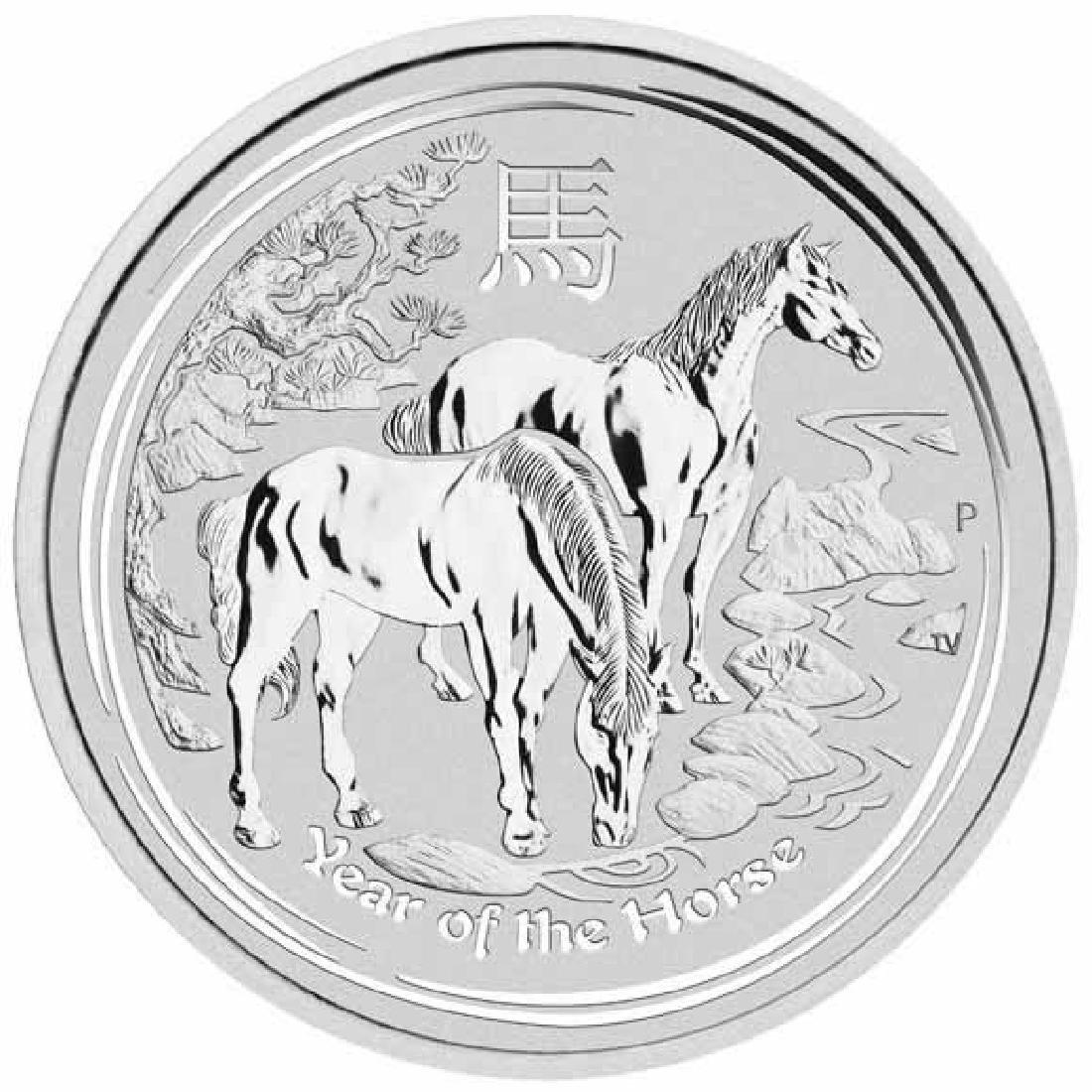 2014 Australia Kilo Silver Lunar Horse
