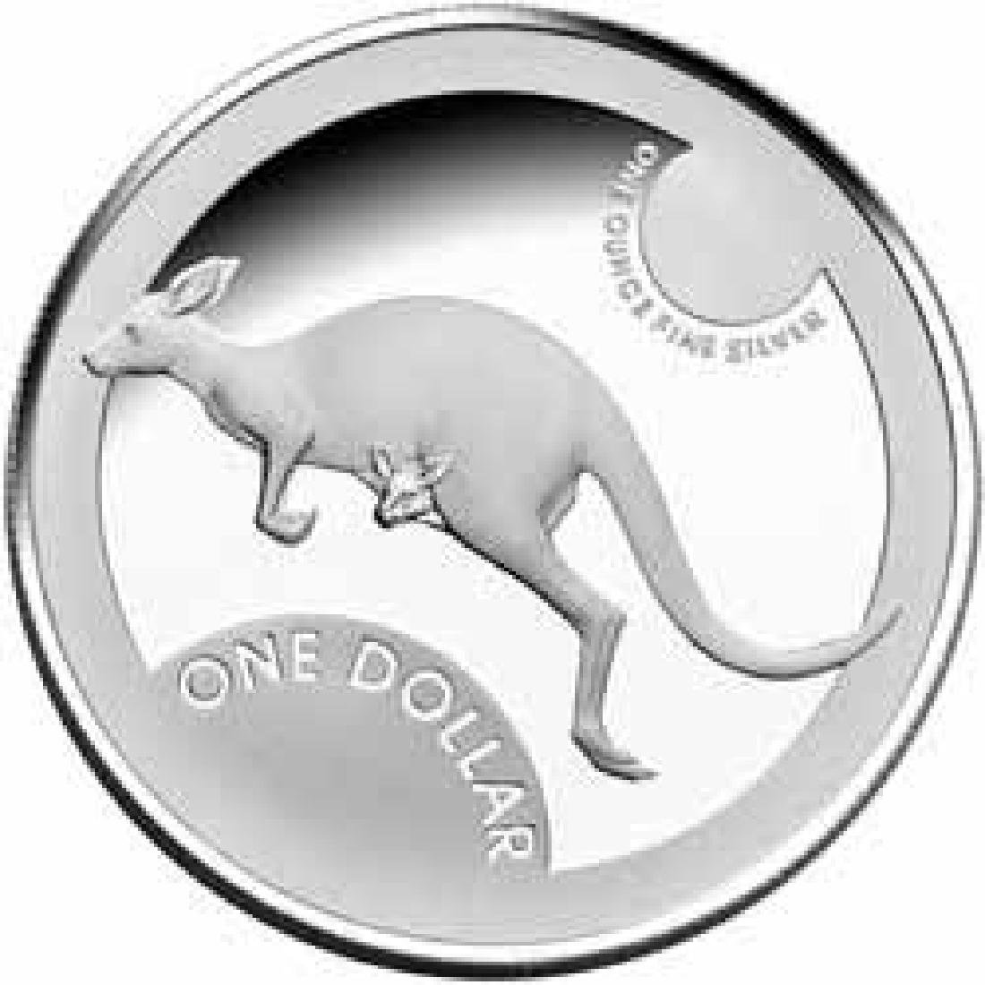 Australian Kangaroo 1 oz. Silver 2006